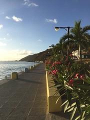 Lungomare Saint Barthélemy Gustavia mare caraibi