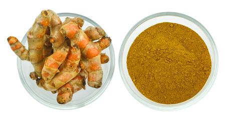 Turmeric (Curcuma longa L.) root and turmeric powder for alterna