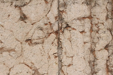 Cracked old wall background