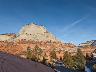 Zion National Park Landscape