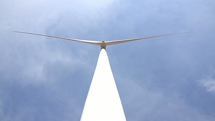 Electrical power eco wind turbine in Huay bong Nakhon Ratchasima