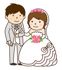 新郎新婦 結婚式