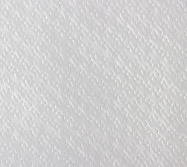 White paper napkin, texture background.