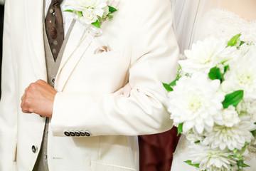 結婚式の入場