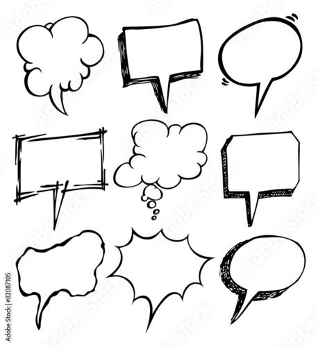 sketchy bubble speech © mhatzapa