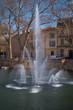 Leinwanddruck Bild - Jardin de la fontaine, Nîmes.