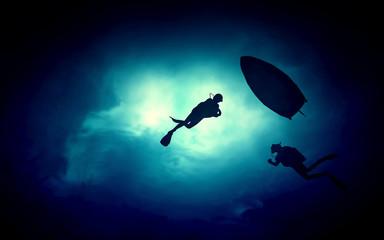 underwater illustration image