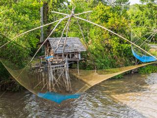Thai style fishing trap