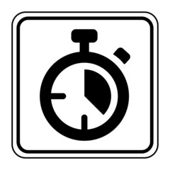 Logo chronomètre.