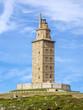 Obrazy na płótnie, fototapety, zdjęcia, fotoobrazy drukowane : Hercules tower , La Coruna, Galicia, Spain