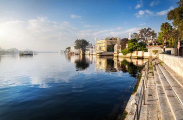 Lake Pichola in India