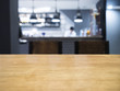 Table top with Blurrd kitchen and chef on background - 82091774