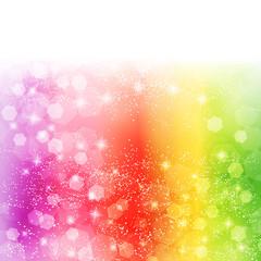 光 虹 背景