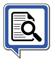 Logo recherche.