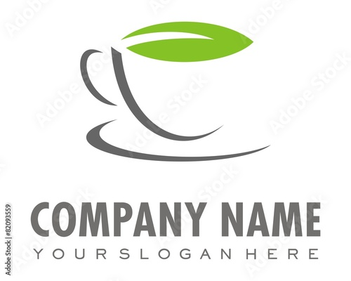 cup coffee or tea logo image vector - 82093559