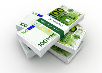 euro banknote money