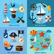 Nautical Icons Set - 82095115