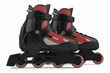 Roller skates isolated - 82095530