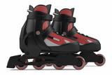 Roller skates isolated