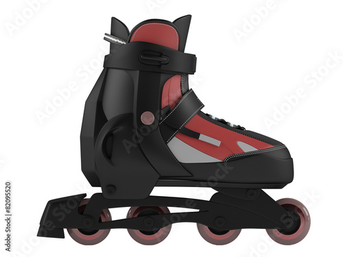 Roller skates isolated - 82095520