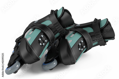Roller skates isolated - 82095525