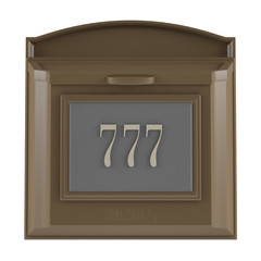 Mailbox 777 isolated