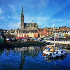 Cobh city center, Ireland
