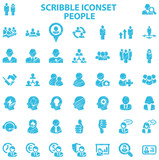 Scribble Iconset People