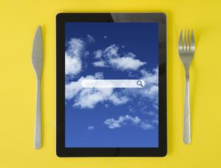 tablet breakfast search