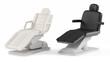 Leinwanddruck Bild - Cosmetic chair spa isolated