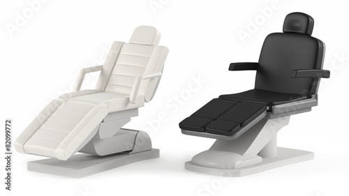 Cosmetic chair spa isolated - 82099772