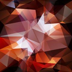 polygonal brown background