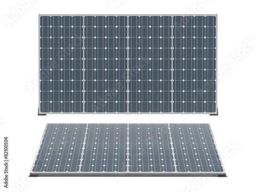 Solar panels isolated - 82100504