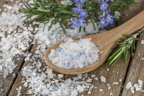 Leinwanddruck Bild Persisches Blausalz