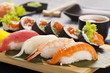 The composition of nigiri sushi - 82102387
