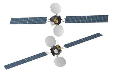 Space telecommunication satellite spacecraf