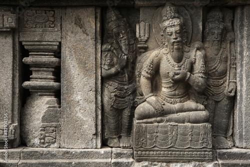 Foto op Canvas Indonesië Prambanan Temple near Yogyakarta, Central Java, Indonesia.