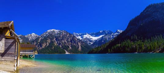 Bergsee in Tirol in den Alpen