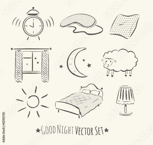 Good night set. - 82105705