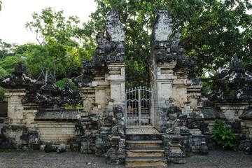 Ancient Uluwatu Temple Section Entrance, Bali, Indonesia