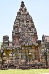 Khmertempel in Phanom Rung