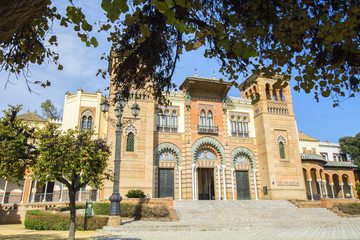 Museum of Arts and Traditions of Sevilla (Spain)
