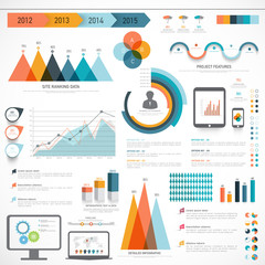 Set of Business Infographic elements.