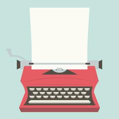 Vintage Typewriter copy space
