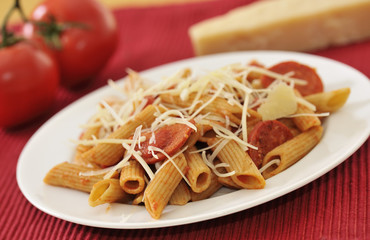 Pasta Salad with Pepperoni