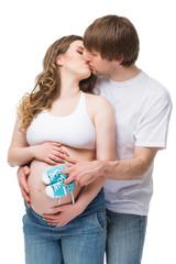 Couple expecting child