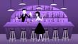 Mid Century Modern Retro Bar Scene - 82112190