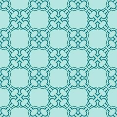 turquiose seamless pattern