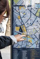 Cartina di Londra