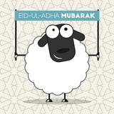 Festival of sacrifice Eid-ul-Adha poster